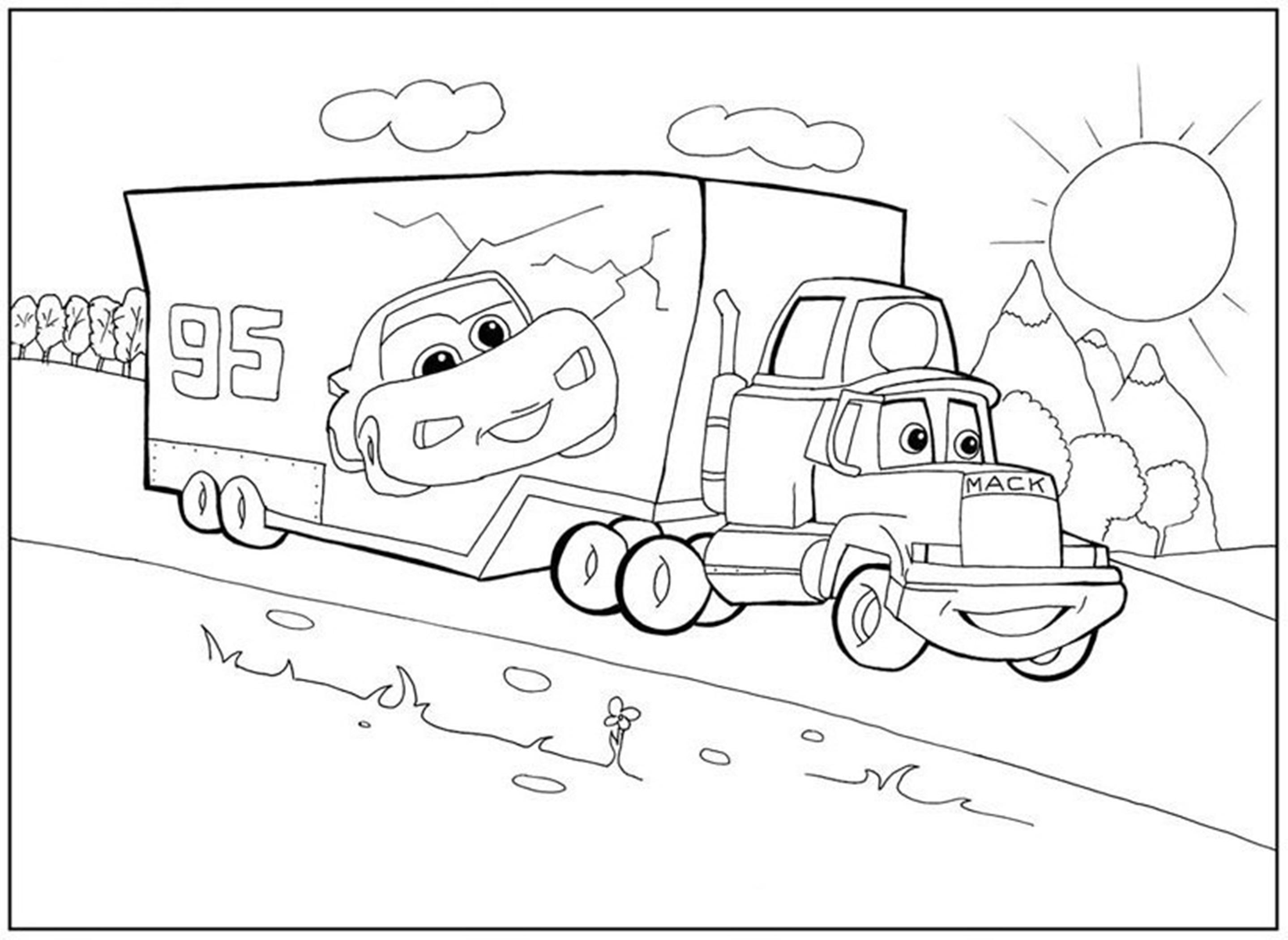 Раскраска мультфильмы для мальчиков