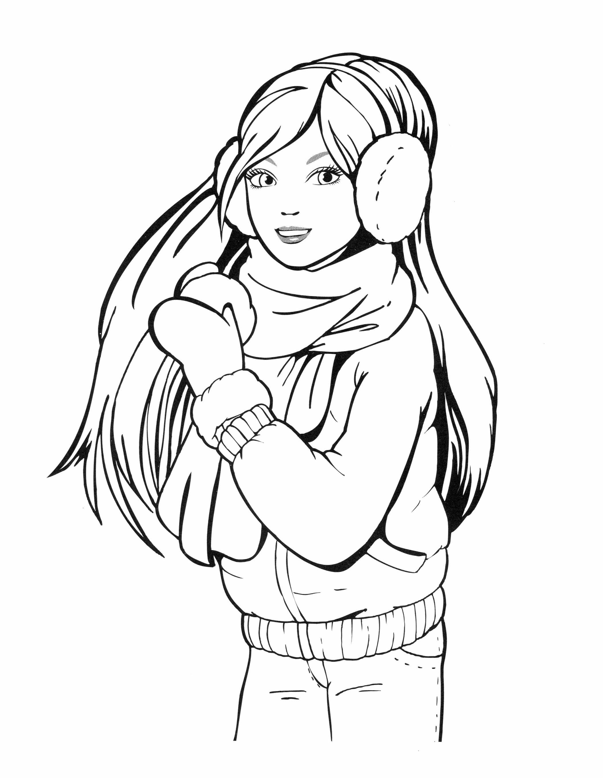 Раскраска для девочек 13 лет распечатать - 2