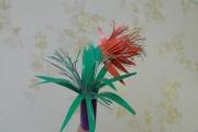 Аленький цветочек из картона